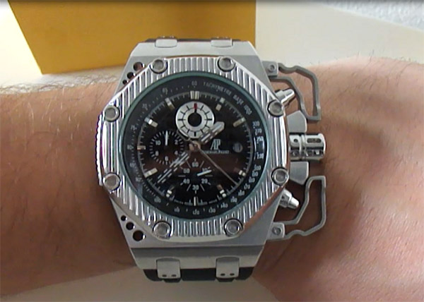 Audemars Piguet Royal Oak Offshore Survivor Réplica – Mejor Replicas ... fad41013c47