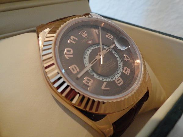 Rolex-Skydweller-Oro-Rosa-Réplicas-de-Relojes-España-Revisión