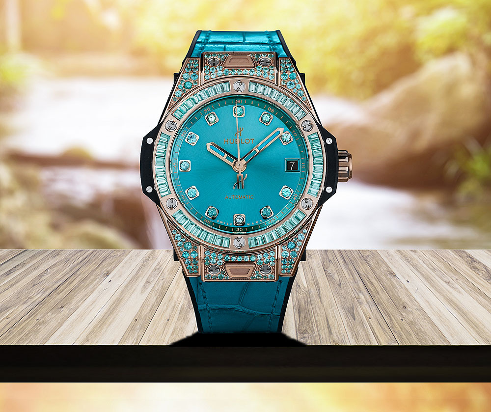 Hublot Big Bang One Click Paraiba Replica