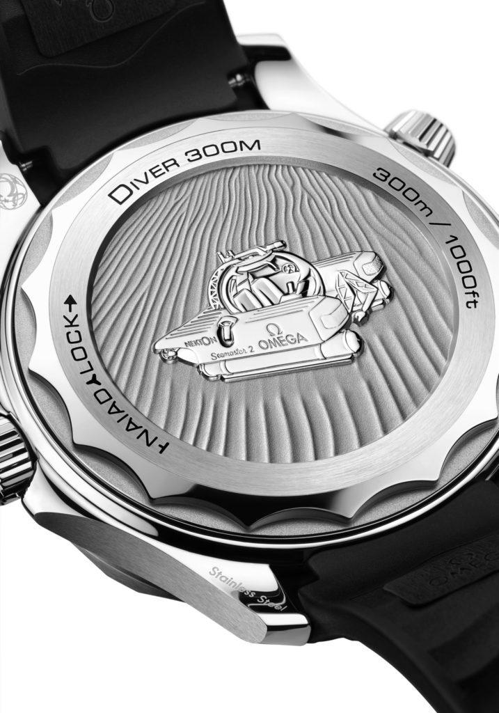 Omega Seamaster Diver 300M Co-Axial Master Chronometer Nekton Replica
