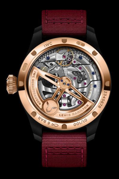 IWC Big Pilots Perpetual Calendar Edition Lewis Hamilton IW503002 Replicas Relojes