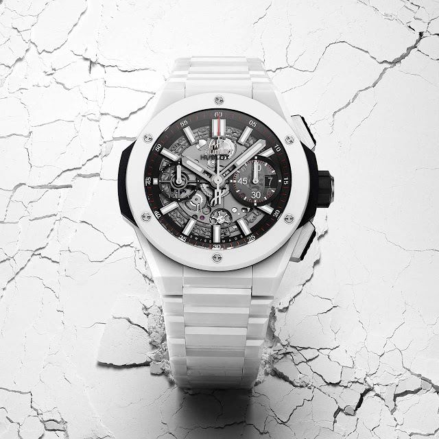 Replica Hublot Big Bang Integral Ceramic Blanco
