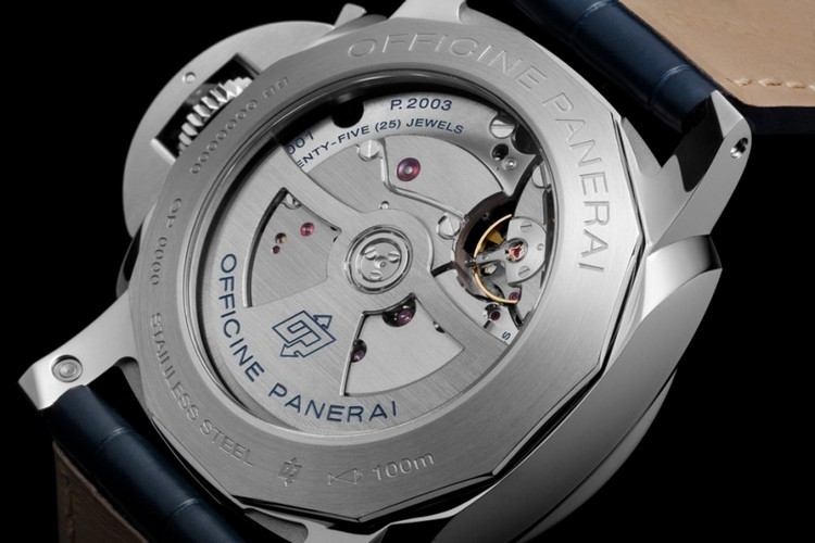 panerai luminor 1950 10 days gmt automatic acciaio 44mm relojes imitacion